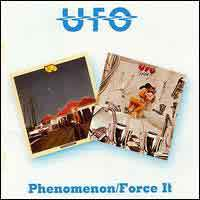[U.F.O. Phenomenon/Force It Album Cover]