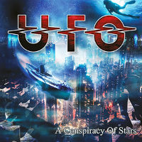[U.F.O. A Conspiracy Of Stars Album Cover]