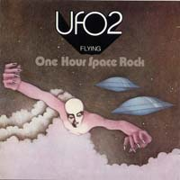 [U.F.O. Flying - One Hour of Space Rock Album Cover]