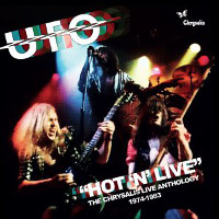 [U.F.O. Hot 'N' Live: The Chrysalis Live Anthology 1974-1983 Album Cover]