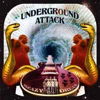 [Underground Attack Sleazy Dream Album Cover]