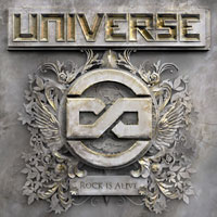 Universe Infinity Rock Is Alive Album Cover