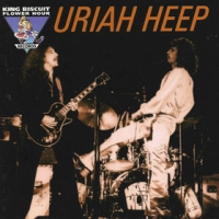 [Uriah Heep King Biscuit Flower Hour '74 Album Cover]