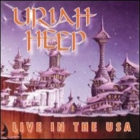 [Uriah Heep Live In The USA Album Cover]