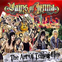 [Vains Of Jenna The Art of Telling Lies Album Cover]