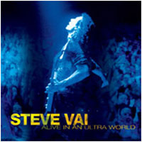[Steve Vai Alive In An Ultra World Album Cover]