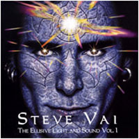 [Steve Vai The Elusive Light And Sound Vol.1 Album Cover]