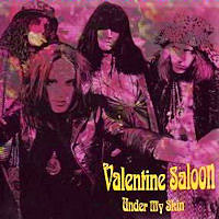 [Valentine Saloon Under My Skin [EP] Album Cover]