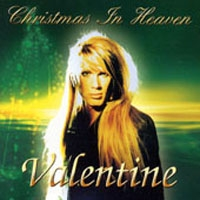 [Robby Valentine Christmas in Heaven Album Cover]