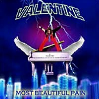 [Robby Valentine Most Beautiful Pain Album Cover]