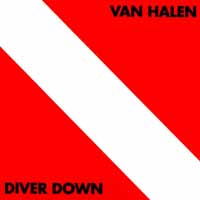 [Van Halen Diver Down Album Cover]