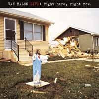 [Van Halen Live: Right Here, Right Now Album Cover]