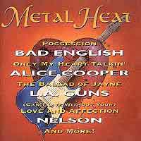 [Compilations Metal Heat Album Cover]