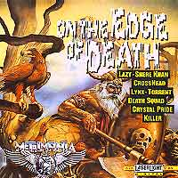 [Various Artists On the Edge of Death Album Cover]