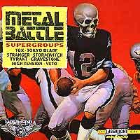 [Various Artists Metal Battle Album Cover]