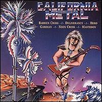 [Various Artists California Metal Album Cover]