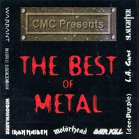 [Compilations The Best of Metal Album Cover]