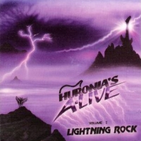[Compilations Huronia's A-Live Lightning Rock Vol. 1 Album Cover]