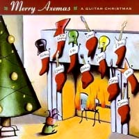 [Compilations Merry Axemas: A Guitar Christmas Album Cover]