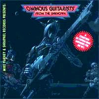 [Compilations Ominous Guitarists From The Unknown Album Cover]