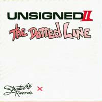 [Compilations Unsigned - II (The Dotted Line) Album Cover]