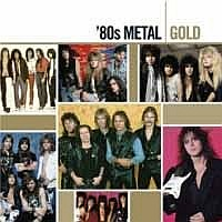 [Compilations '80s Metal Gold Album Cover]
