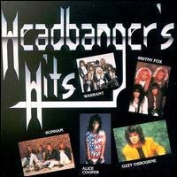 [Compilations Headbanger's Hits Album Cover]