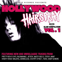 [Compilations Hollywood Hairspray Album Cover]