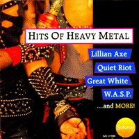 [Compilations Hits Of Heavy Metal Album Cover]