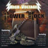 [Compilations High Voltage Power Rock Album Cover]