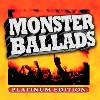 [Compilations Monster Ballads: Platinum Edition Album Cover]