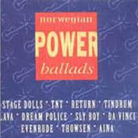 [Compilations Norwegian Power Ballads Album Cover]
