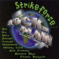 [Compilations Rock the Planet: Strikeforce, Volume 1 Album Cover]