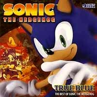 [Compilations True Blue:The Best of Sonic the Hedgehog Album Cover]