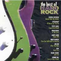 [Compilations The Best of Hard Rock Album Cover]