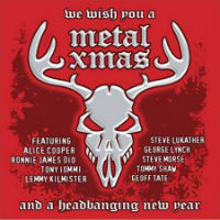 [Compilations We Wish You a Metal Xmas and a Headbanging NewYear Album Cover]