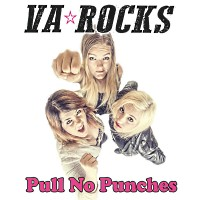 [VA Rocks Pull No Punches Album Cover]