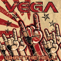 [Vega What The Hell! Album Cover]