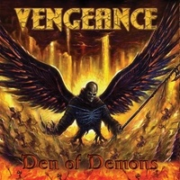 [Vengeance Den of Demons Album Cover]