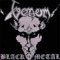 [Venom Black Metal Album Cover]