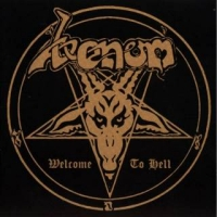 [Venom Welcome to Hell Album Cover]
