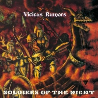 [Vicious Rumors Soldiers of the Night Album Cover]