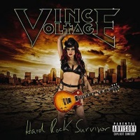 [Vince Voltage Hard Rock Survivor Album Cover]
