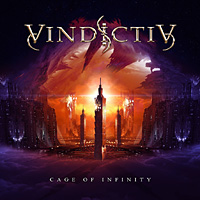 [Vindictiv Cage of Infinity Album Cover]