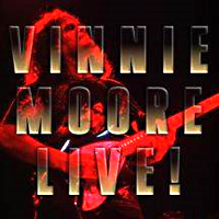 [Vinnie Moore Live! Album Cover]
