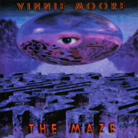 [Vinnie Moore The Maze Album Cover]