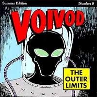 [Voivod The Outer Limits Album Cover]