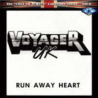 [Voyager UK Run Away Heart Album Cover]