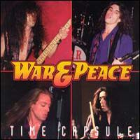 [War and Peace Time Capsule Album Cover]