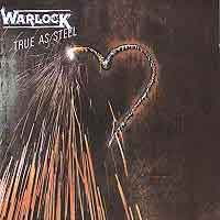 [Warlock True As Steel Album Cover]